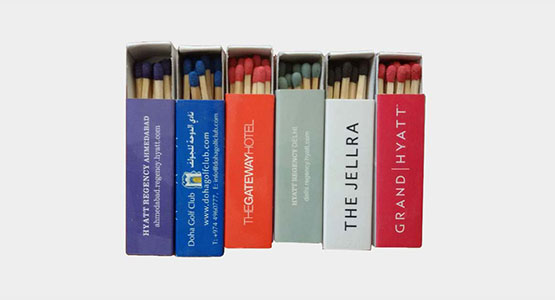 Promotional Safety Matches